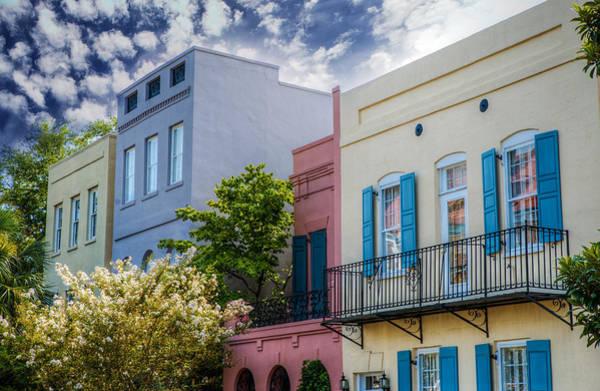 Wall Art - Photograph - Rainbow Row IIi by Drew Castelhano