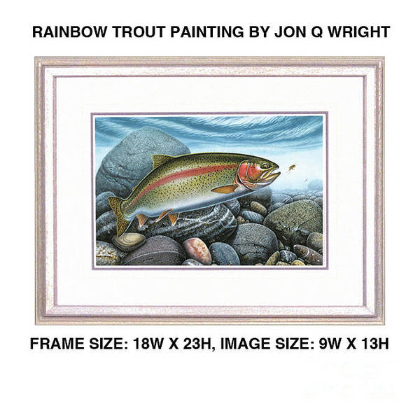 Painting - Rainbow Run by JQ Licensing
