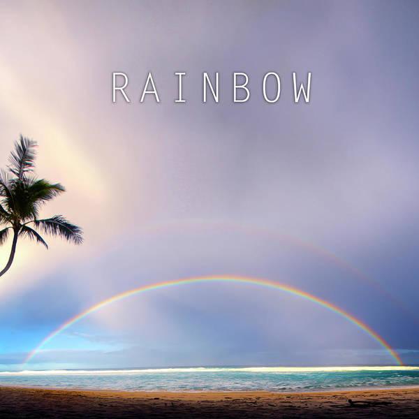 Atmospherics Wall Art - Photograph - Rainbow. by Sean Davey