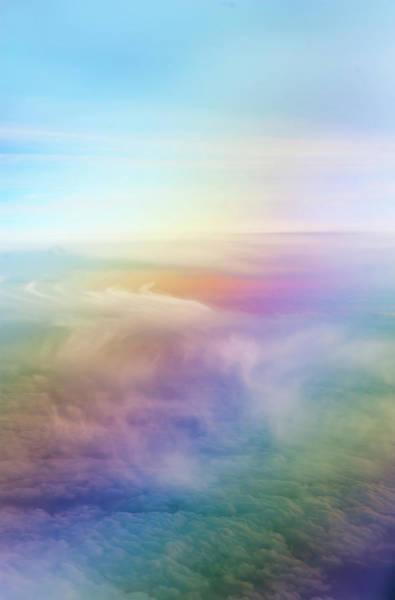 Photograph - Rainbow Sky by Jenny Rainbow