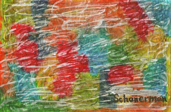 Painting - Rainbow Sparkle by Susan Schanerman