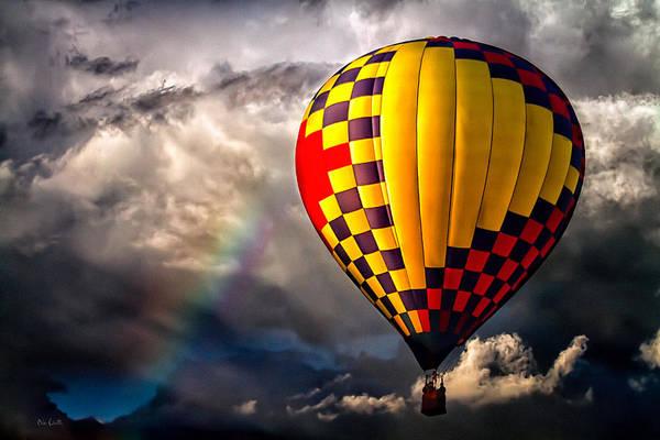 Photograph - Rainbow Sunset by Bob Orsillo
