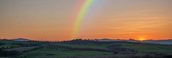 Photograph - Rainbow Valley-panorama by Ericamaxine Price