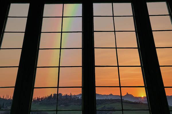 Photograph - Rainbow Valley Through The Window by Ericamaxine Price