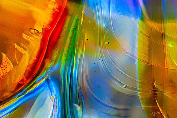 Rainbow Waterfalls Art Print
