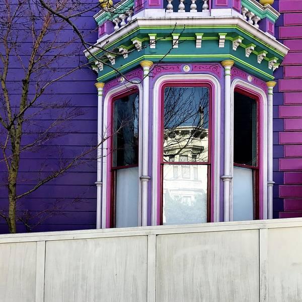 Wall Art - Photograph - Rainbow Window by Julie Gebhardt