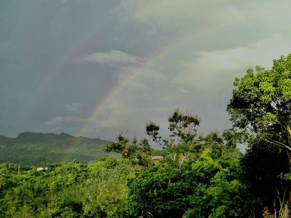 Photograph - Rainbow2 In Villalba, Puerto Rico by Walter Rivera Santos