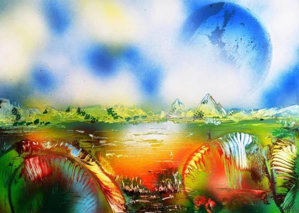 Wall Art - Painting - Rainbowland  by Nandor Molnar