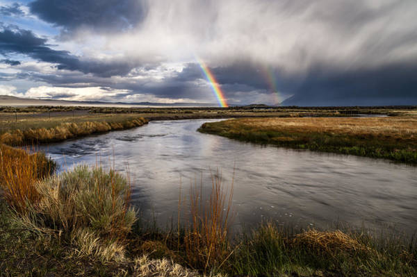 Wall Art - Photograph - Rainbows At The Upper Owens by Cat Connor