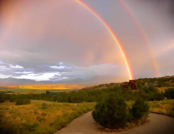 Digital Art - Rainbows by Charles Muhle