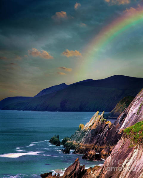 Photograph - Rainbow's End by Edmund Nagele