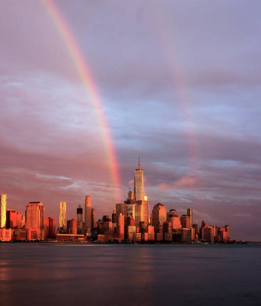 Photograph - Rainbows In Nyc by Anthony Fields
