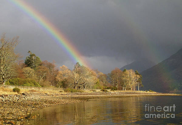 Photograph - Rainbows Over Loch Leven by Phil Banks