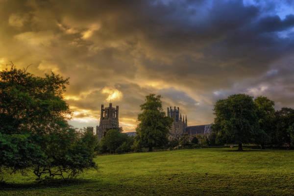 Photograph - Raincloud Sunset by James Billings