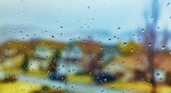 Wall Art - Photograph - Raindrops On Windows by Nancy Marie Ricketts
