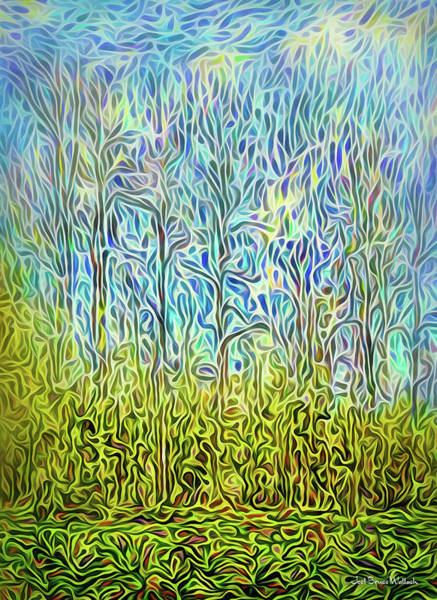 Digital Art - Rainforest Flow by Joel Bruce Wallach