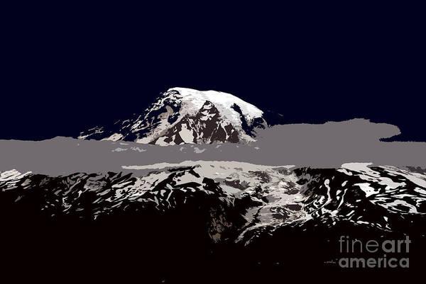 Mount Rainier Painting - Rainier by David Lee Thompson