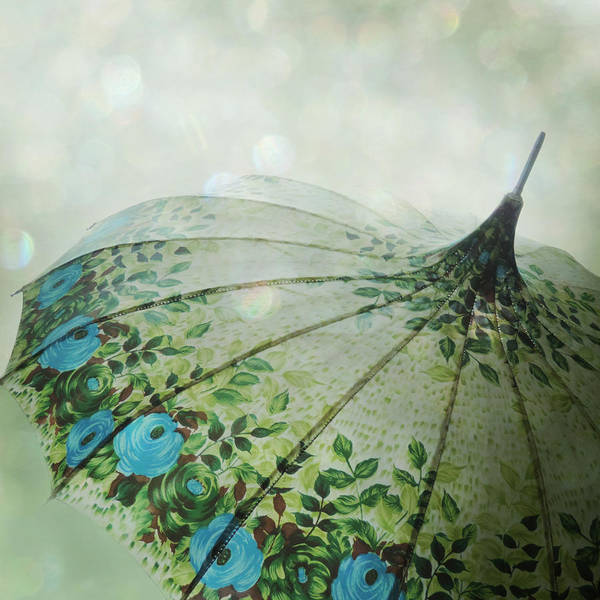 Art Print featuring the photograph Raining Bokeh by Sally Banfill