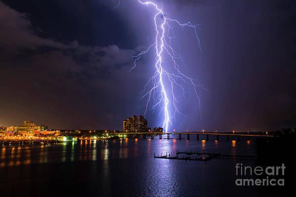 Bolts Photograph - Raining Bolts by Quinn Sedam