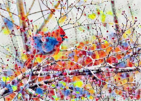 Photograph - Raining Colors by Bellesouth Studio