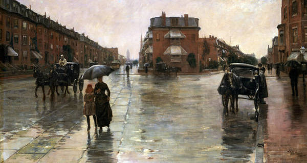 Painting - Rainy Day, Boston by Childe Hassam