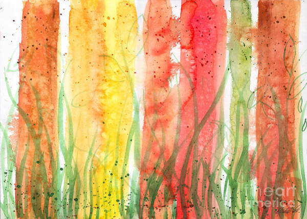 Painting - Rainy Day Cheer by Kristen Fox