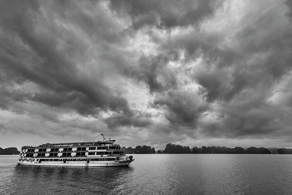 Photograph - Rainy Day Cruise by Hitendra SINKAR