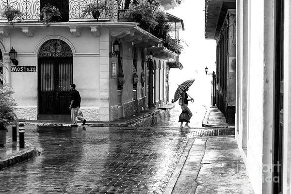 Wall Art - Photograph - Rainy Day In Casco Viejo by John Rizzuto