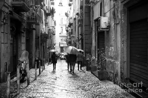 Wall Art - Photograph - Rainy Day In Naples by John Rizzuto