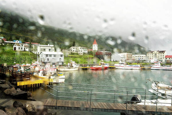 Photograph - Rainy Day In Siglufjorour by Tom Singleton