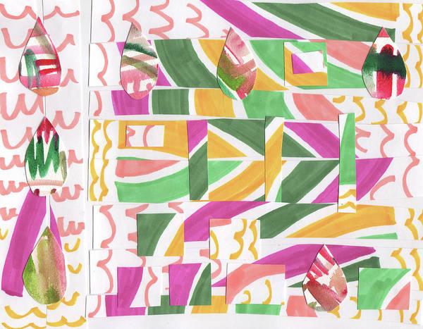 Wall Art - Mixed Media - Rainy Day by Kristy Lankford