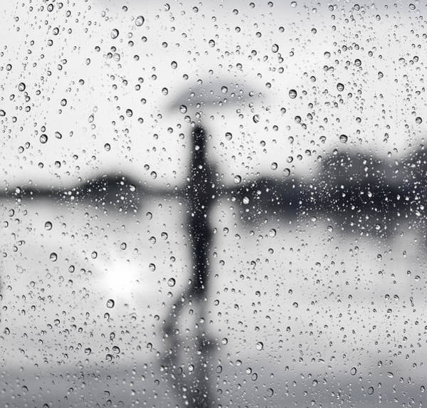 Glossy Photograph - Rainy Day by Setsiri Silapasuwanchai