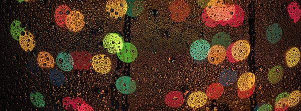 Wall Art - Photograph - Rainy Lights by Steve Gadomski