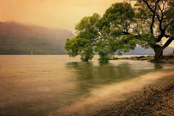 Photograph - Rainy Queenstown New Zealand by Joan Carroll