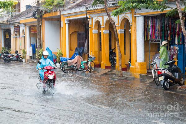Quang Nam Province Photograph - Rainy Season Hoi An Vietnam by Martin Berry