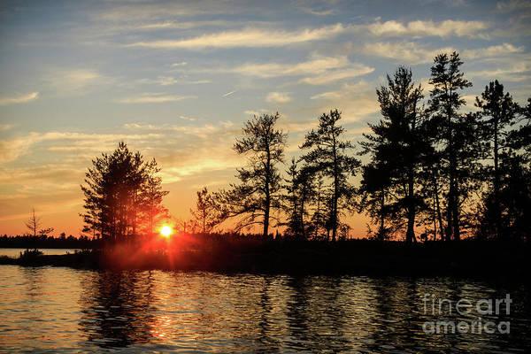 Photograph - Rainy Sunset by Lori Dobbs