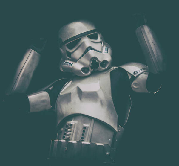Stormtrooper Wall Art - Photograph - Raise The Roof by Martin Newman