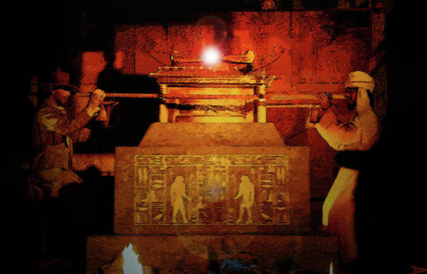 Steven Spielberg Painting - Raising The Ark by David Lee Thompson