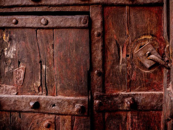 Photograph - Rajasthan Door by M G Whittingham