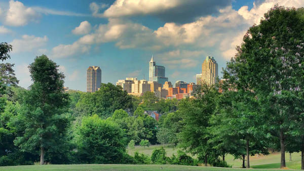 Photograph - Raleigh From Dorothea Dix by Paulette B Wright