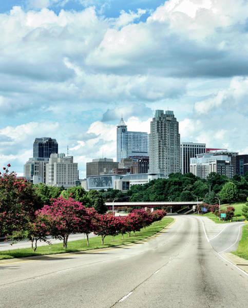 Downtown Raleigh Wall Art - Photograph - Raleigh North Carolina by Brendan Reals