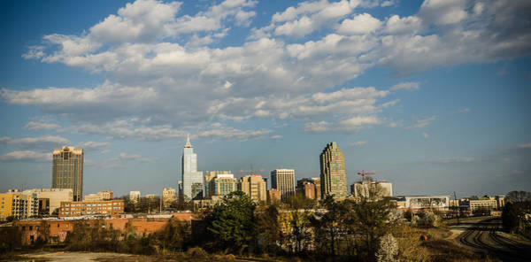 Downtown Raleigh Wall Art - Photograph - Raleigh Skyline by Anthony Doudt