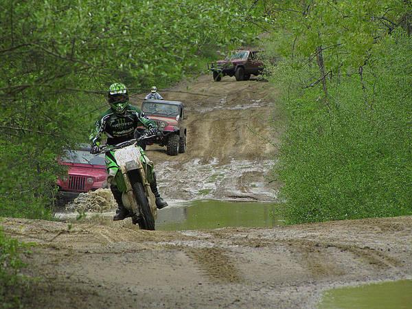 Photograph - Rally Race by Scott Hovind