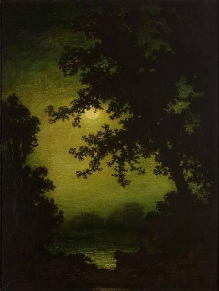 Painting - Ralph Albert Blakelock  1847  1919  Stilly Night by Artistic Panda