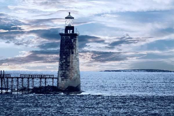 Digital Art - Ram Island Head Lighthouse.jpg by Rusty R Smith