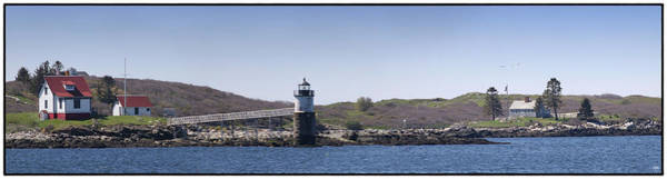 Photograph - Ram Island Light And Fisherman Island by John Meader