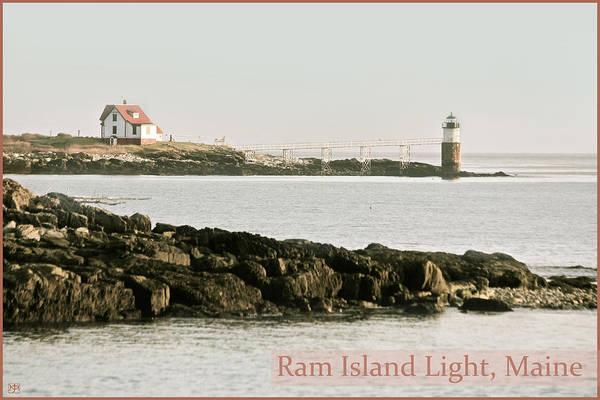 Photograph - Ram Island Lighthouse by John Meader