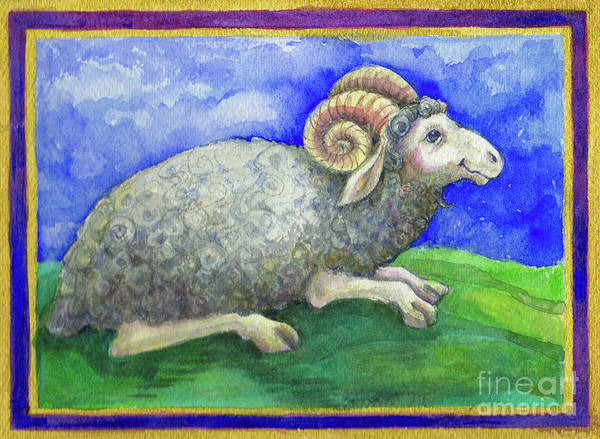 Painting - Ram by Lora Serra