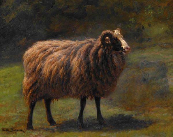 Breeding Painting - Ram by Rosa Bonheur