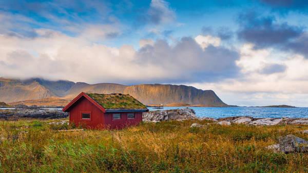 Photograph - Ramberg Hut by James Billings